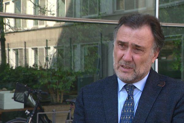 Thierry Gardon, Président du Tribunal de Commerce de Lyon. Une permanence a été mise en place pour les entreprises 20/03/20