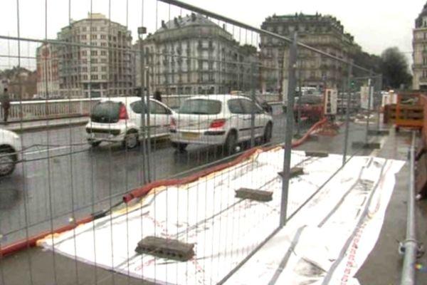 Le pont de la Porte France à Grenoble