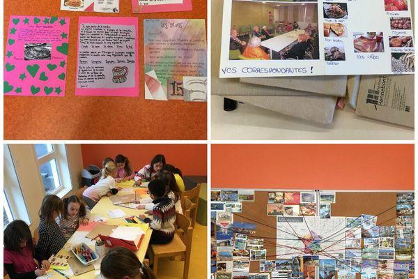 Les enfants du périscolaire Maximômes de Truchtersheim ont fait de belles rencontres à travers le monde cette année