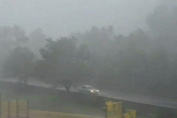 Saint-Just-d'Ardèche - l'orage de grèle du 20 juillet 2014