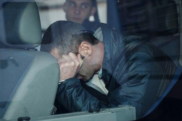 Pascal Dauriac le 2 février 2015 lors de son arrivée à la cour de justice de Marseille pour une confrontation.