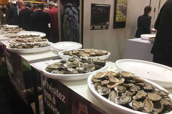 Une fois de plus, les huîtres ont rapporté de nombreuses médailles à la Bretagne lors du concours général agricole au Salon de l'agriculture