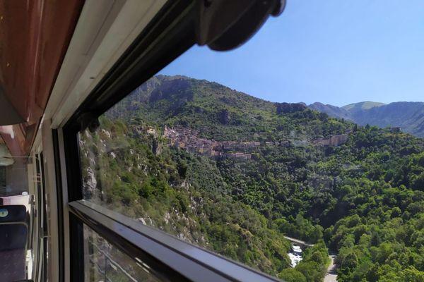 Panorama grandiose depuis le Train des Merveilles