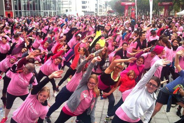 Octobre Rose à Angers, 5200 personnes pour le dépistage systématique du cancer du sein