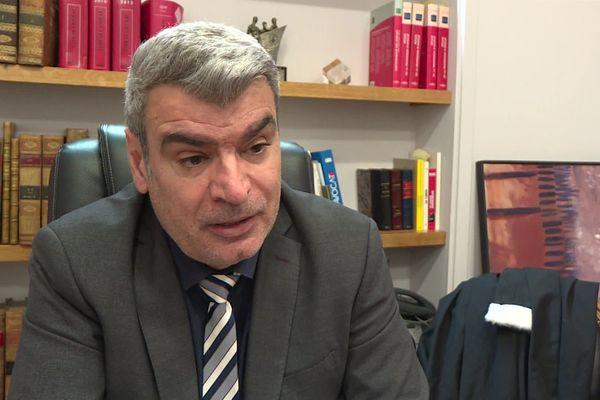 Raymond Escalé, bâtonnier des avocats de Perpignan