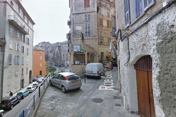 Rue Général Carbuccia à Bastia