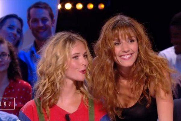 Raphaëlle Dupire a fait ses débuts à la télévision ce lundi, accompagnée de Doria Tillier.