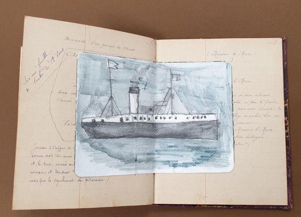 Paul Marietti est mort à son retour en Corse, en 1918, dans le torpillage du navire qui le transportait.