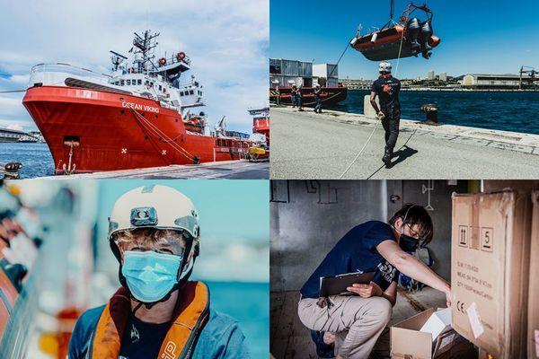 31 personnes s'apprêtent à embarquer pour la première mission de sauvetage post-covid de l'Ocean Viking.