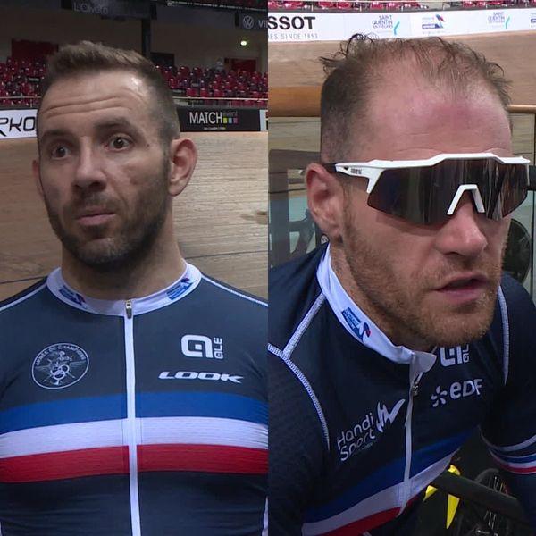 Le mayennais François Pervis fait équipe avec Raphaël Beaugillet, pour le kilomètre départ arrêté en tandem