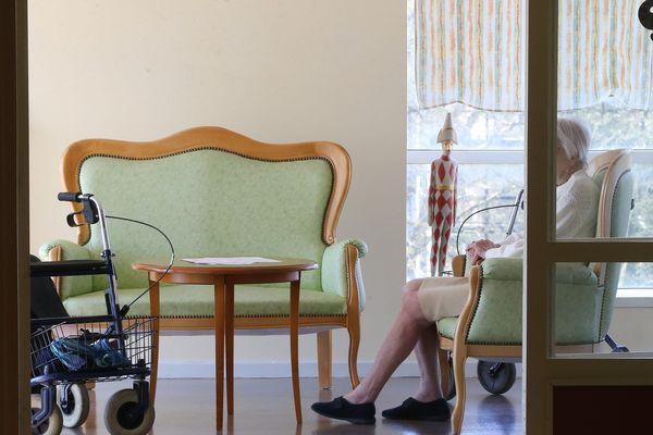 Les visites dans les maisons de retraite étaient interdites depuis le 12 mars dans toute la France.
