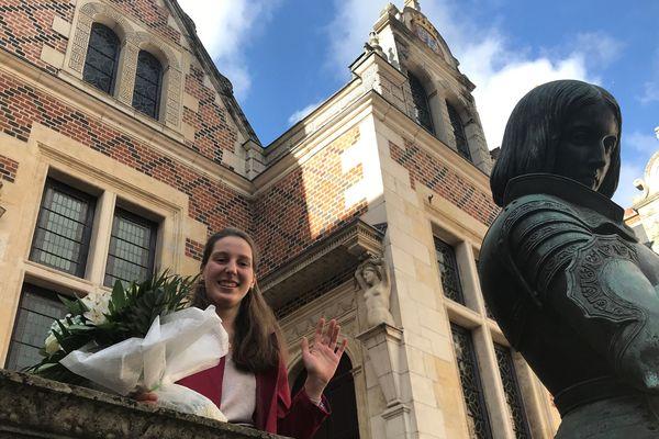 Blandine Veillon, la Jeanne d'Arc 2019 des fêtes johanniques d'Orléans.