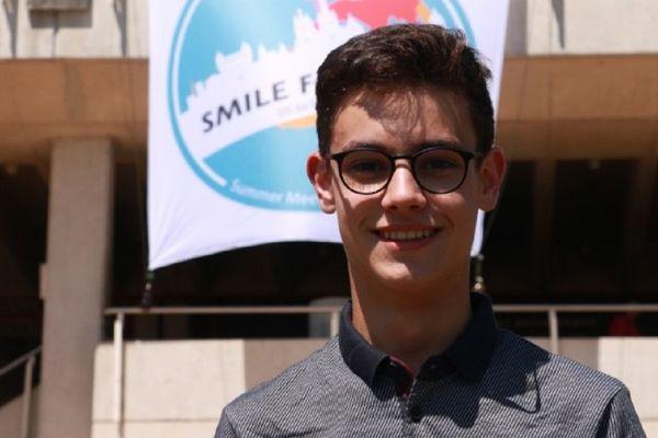 """Thomas Le Guilloux au sommet """"SMILE for Future"""" à Lausanne en août 2019"""