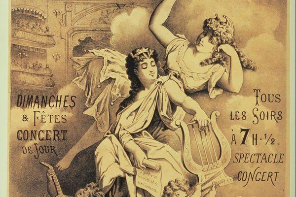 1873 Théâtre à ciel ouvert