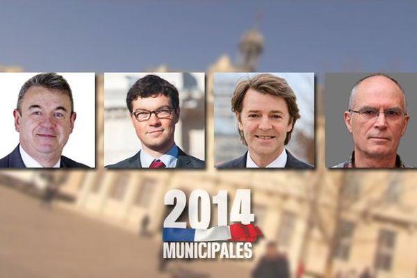 Bruno SUBTIL (FRONT NATIONAL), Dimitri SYDOR (PARTI SOCIALISTE), François BAROIN (Union pour un Mouvement Populaire), Pierre BISSEY (LUTTE OUVRIERE)