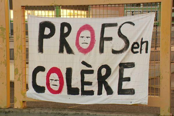 Givors : deux enseignants en grève de la faim au collège Lucie Aubrac depuis lundi 25 janvier 2021 (17h)