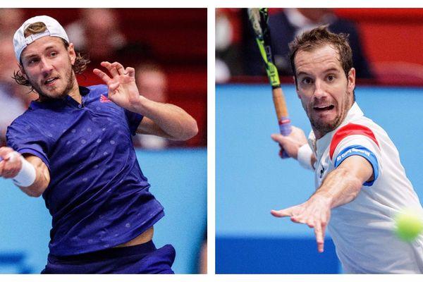 Lucas Pouille et Richard Gasquet pensent tous deux à la Coupe Davis qui s'annonce.
