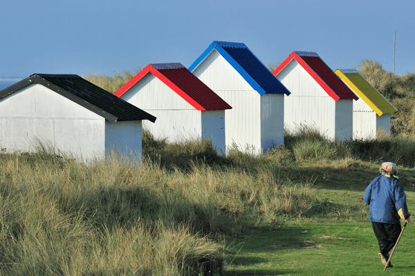 Agon-Coutainville et Gouville sur mer (photo) retrouvent leur pavillon bleu