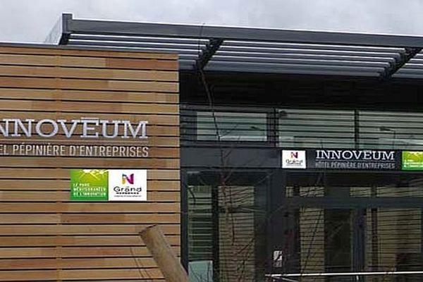 Narbonne (Aude) - la pépinière d'entreprises Innoveum - archives