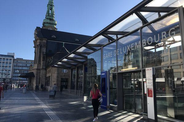 La gare de Luxembourg-Ville.