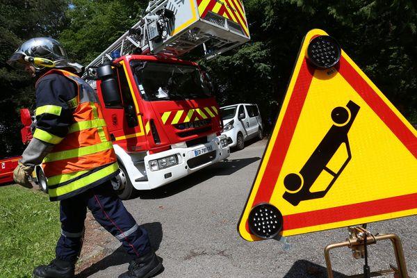 Intervention des pompiers, image d'illustration.