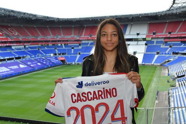 Football féminin: trois ans de plus à l'Olympique Lyonnais pour l'attaquante Delphine Cascarino