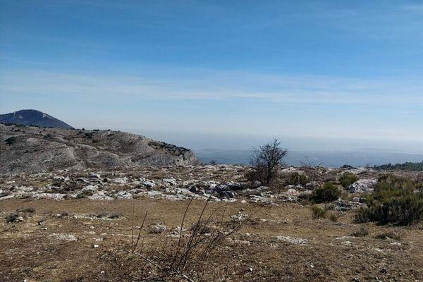 Le plateau de Calern est situé près de Caussols