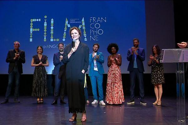 Jacqueline Bisset, la présidente du jury 2019, a été ovationnée par les festivaliers à Angoulême.