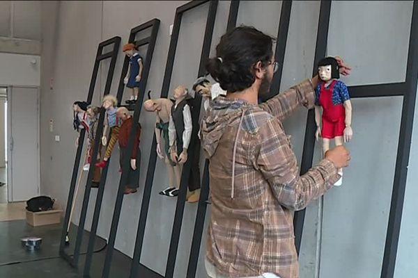 L'école de la marionnette a formé 160 élèves.