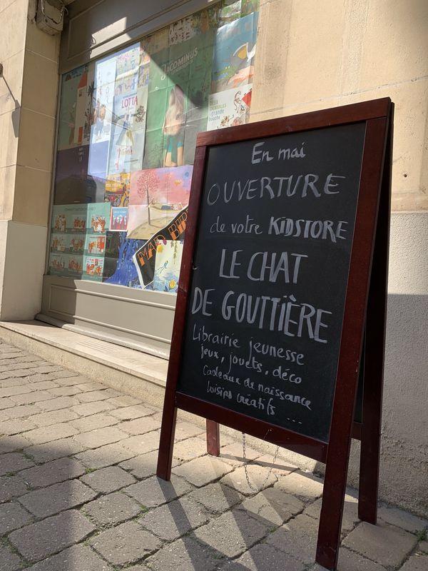 La librairie ouvrira fin mai à Reims.