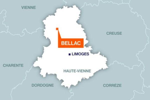Un dramatique accident de la circulation, faisant un mort et deux blessés graves, s'est produit mardi matin près de Bellac
