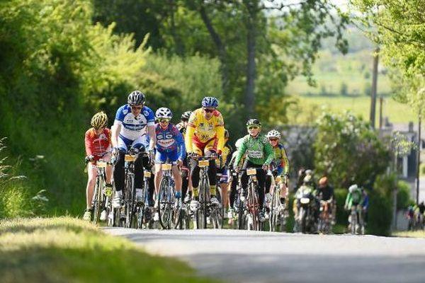 Image d'illustration du Tour de France amateur, celle ci a été prise par Yves Mainguy le 25 mai lors de l'étape Grand Départ 2016