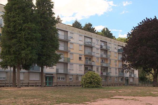 Le quartier de La Molette, au Creusot, compte 800 habitants.