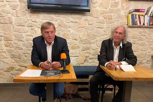 Daniel Richard et Yvan Lachaud feront liste commune au second tour des municipales.