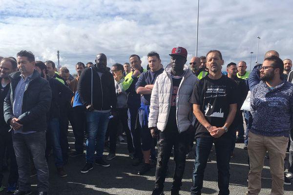 Les salariés de l'usine de La Roche-sur-Yon débrayent ce jeudi 17 octobre