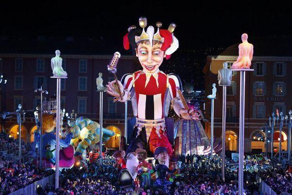 Le carnaval de Nice en février 2016