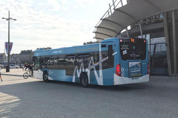 Perturbations sur les lignes de bus du réseau MAT de St Malo.
