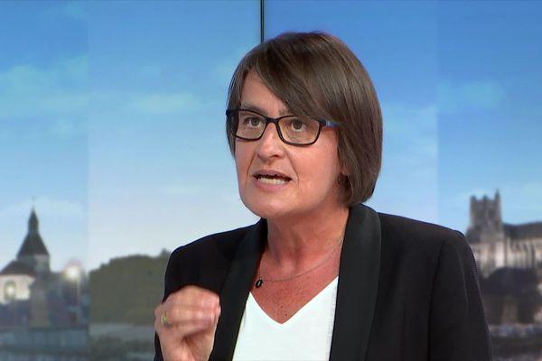 Nathalie Albert-Moretti était l'invitée de France 3 Bourgogne ce lundi 31 août