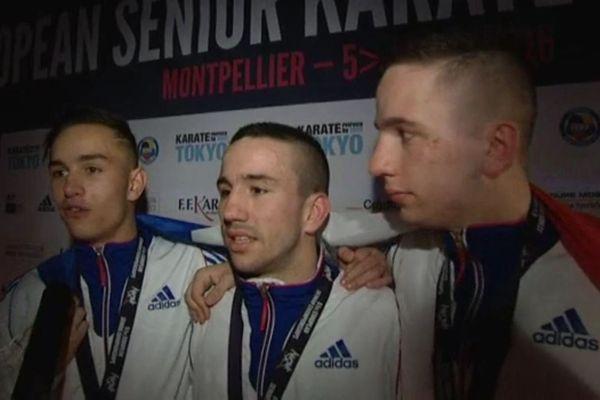 Steven, Logan et Jessie Da Costa sont trois champions de karaté, originaires de Mont Saint Martin.