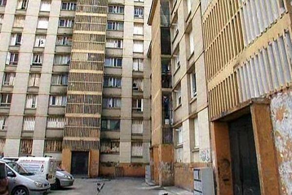 Montpellier - le quartier du Petit Bard en pleine rénovation - mars 2014.
