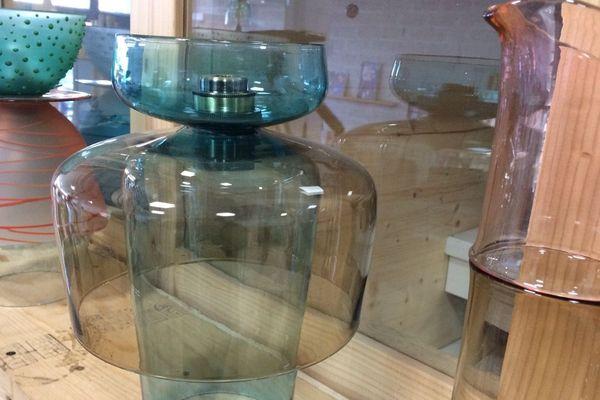 Les créations de Julie Johnson, souffleuse de verre à Paimpol (22)