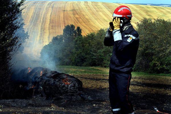Illustration. La préfecture du Jura a fait part de son inquiétude sur les risques d'incendie dus à la sécheresse, ce mardi 4 août.