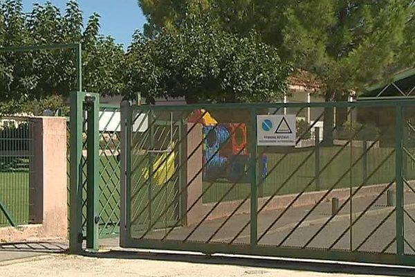 Caveirac (Gard) - l'école maternelle - septembre 2017.