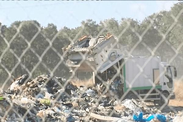 Le centre d'enfouissement de Prunelli a accueilli ce mardi matin les ordures ménagères de la Haute-Corse.