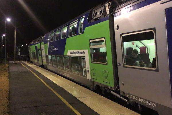 Mercredi 8 janvier, la circulation des TER est encore perturbée dans les Hauts-de-France
