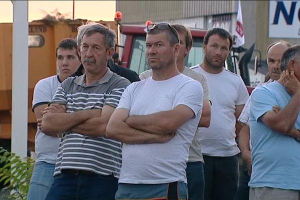 Les producteur de lait du Loir-et-Cher l'assurent : s'ils n'obtiennent pas satisfaction, ils sont prêts à redescendre dans la rue