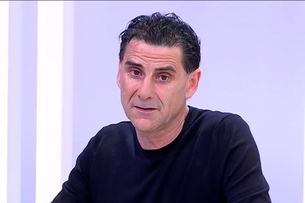 Didier Tholot, entraîneur de l'AS Nancy Lorraine