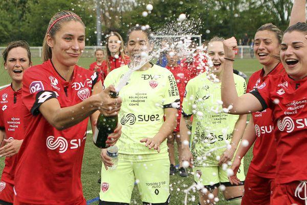 L'équipe féminine du DFCO file en Division 1.