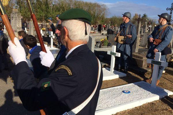 Briare (Loiret) : commémoration de l'armistice du 11 novembre