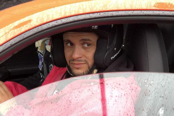 Malik Bentalha invité de l'ACO sur le circuit Bugatti du Mans le 7 avril 2018